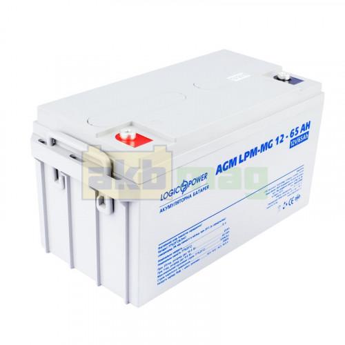 Аккумулятор LogicPower LPM-MG12-65