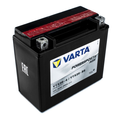 Мото аккумулятор Varta 6СТ-18 PowerSports AGM YTX20-BS
