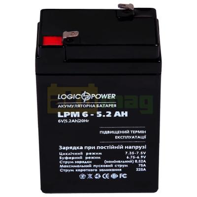 Аккумулятор LogicPower LPM6-5,2