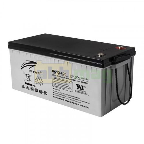 Аккумулятор Ritar DC12-200C Carbon