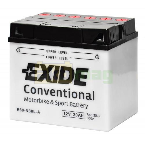 Мото аккумулятор Exide 6СТ-30 E60-N30L-A