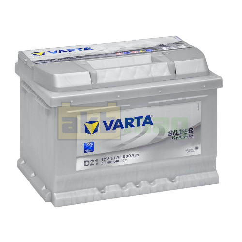 Автомобильный аккумулятор Varta 6СТ-61 D21 Silver Dynamic