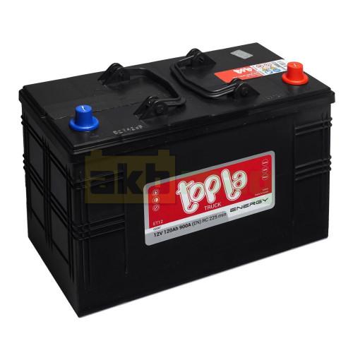 Грузовой аккумулятор Topla 6СТ-120 Energy Truck