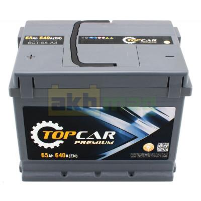 Аккумулятор Top Car 6СТ-65 Premium