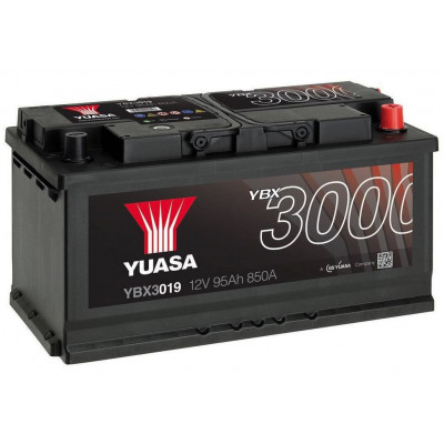 Автомобильный аккумулятор Yuasa 6СТ-95 SMF YBX3019