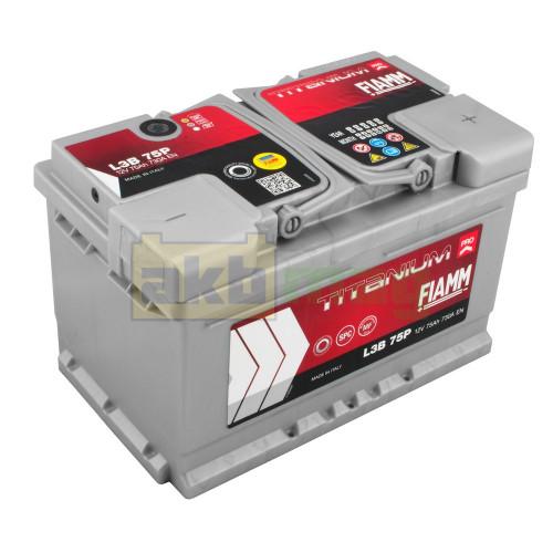 Автомобильный аккумулятор Fiamm 6СТ-75 Titanium Pro