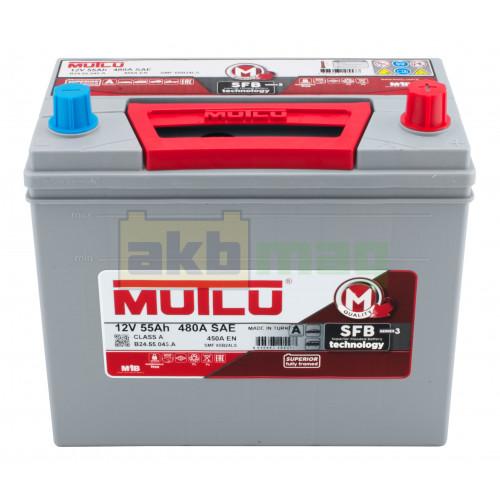 Автомобильный аккумулятор Mutlu 6СТ-55 SFB Series 3 450A