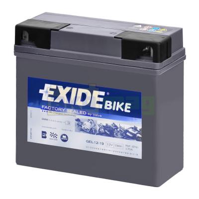 Мото аккумулятор Exide 6СТ-19 GEL12-19