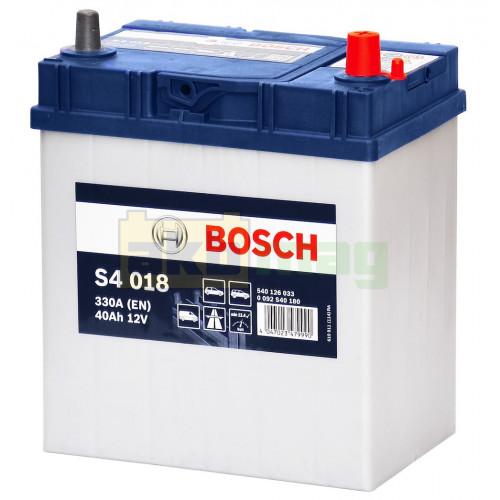 Автомобильный аккумулятор Bosch 6СТ-40 S4 018 0092S40180