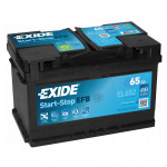 Exide 6СТ-65 Start-Stop EFB EL652