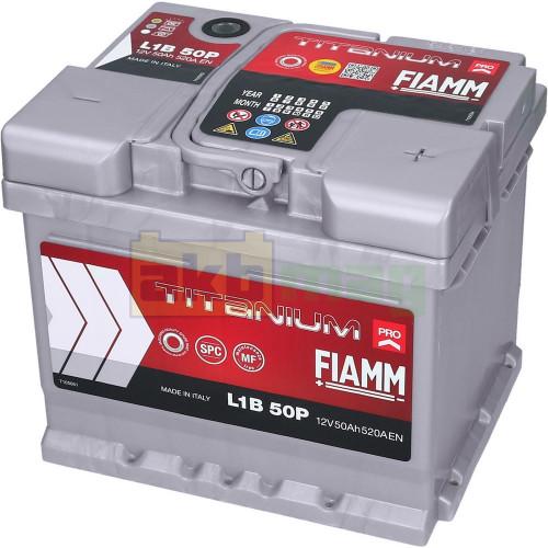 Автомобильный аккумулятор Fiamm 6СТ-50 Titanium Pro