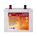 LogicPower LiFePO4 12V 90AH (BMS 80) Металл