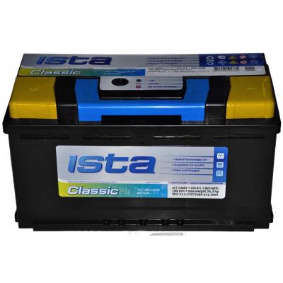 Автомобильный аккумулятор Ista 6СТ-100 Classic