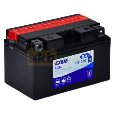 Мото аккумулятор Exide 6СТ-8,6 ETZ10-BS
