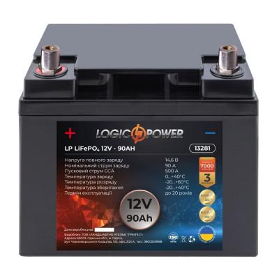 Аккумулятор литиевый LogicPower 12V 90AH L LiFePO4