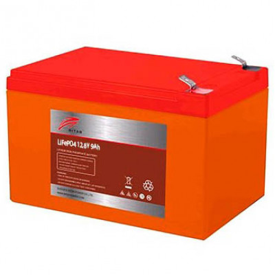 Аккумулятор Ritar LiFePO4 12V 9AH (BMS 9)