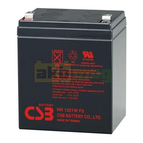 Аккумулятор CSB HR1221WF2