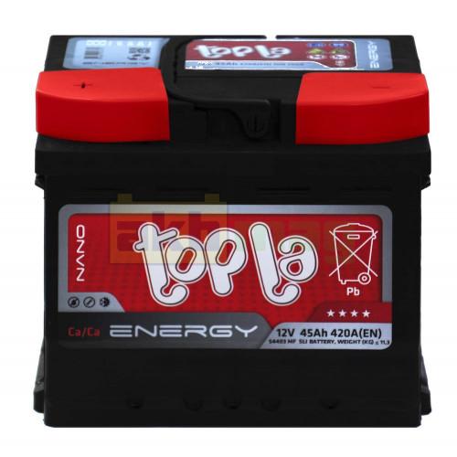 Автомобильный аккумулятор Topla 6СТ-45 Energy L