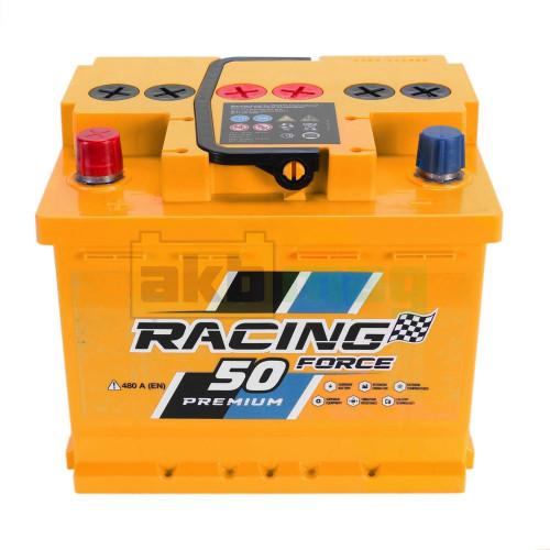 Автомобильный аккумулятор Racing Force 6СТ-50