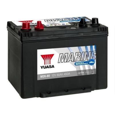 Аккумулятор Yuasa 80 Marine M26-80