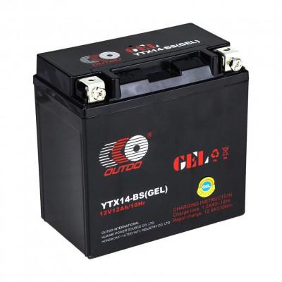 Мото аккумулятор Outdo 6СТ-12 UTX14-BS