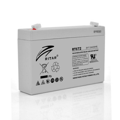 Аккумулятор Ritar RT672