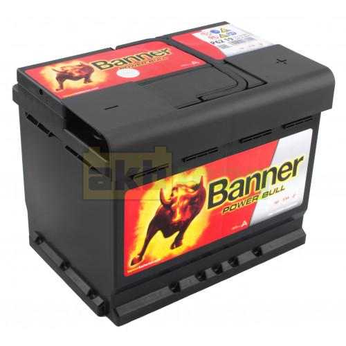 Автомобильный аккумулятор Banner 6СТ-62 Power Bull P6219