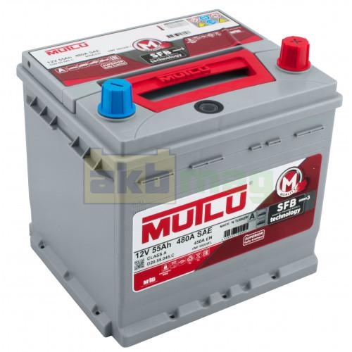 Автомобильный аккумулятор Mutlu 6СТ-55 SFB Series 3 450A Hyundai