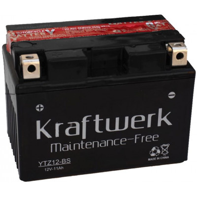 Мото аккумулятор Kraftwerk 6СТ-11 YTZ12-BS