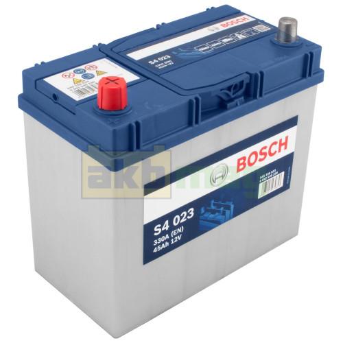 Автомобильный аккумулятор Bosch 6СТ-45 S4 023 0092S40230