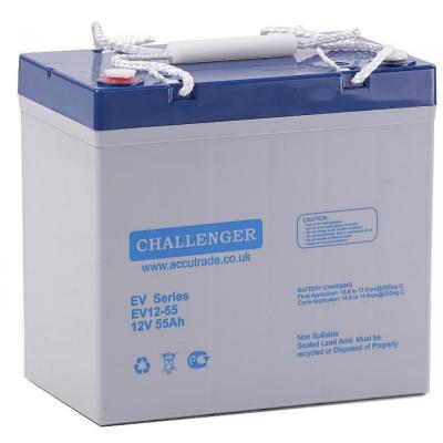 Тяговый аккумулятор Challenger EV12-55