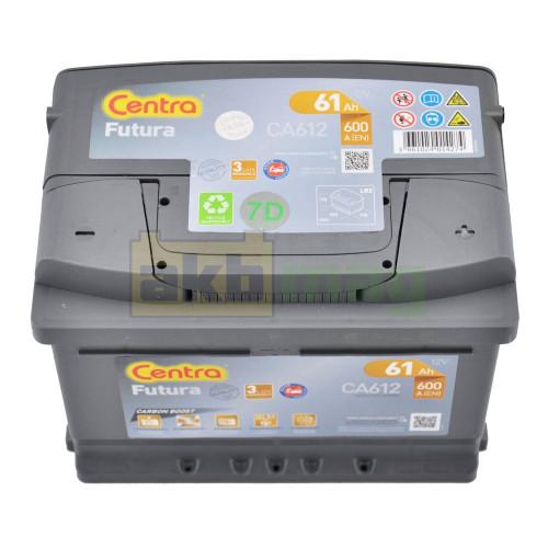 Автомобильный аккумулятор Centra 6СТ-61 Futura CA612