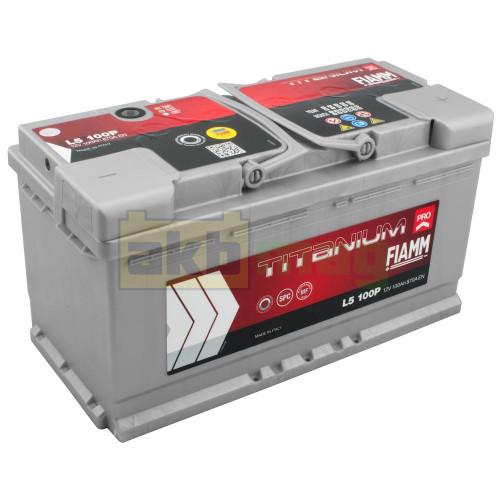 Автомобильный аккумулятор Fiamm 6СТ-100 Titanium Pro