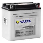 Varta 6СТ-9 Powersport 12N9-4B-1/YB9-B
