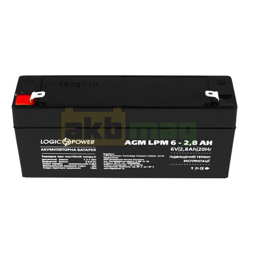 Аккумулятор LogicPower LPM6-2,8