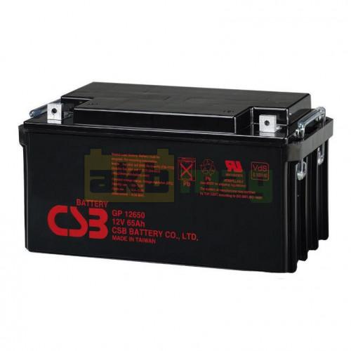 Аккумулятор CSB GP12650
