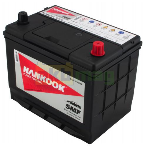 Автомобильный аккумулятор Hankook 6СТ-70 SMF 100D26FL