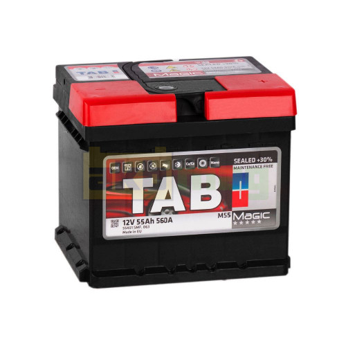 Аккумулятор TAB 6СТ-55 Magic