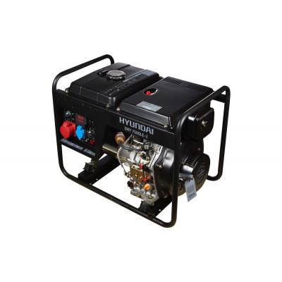 Дизельный генератор Hyundai DHY 7500LE-3
