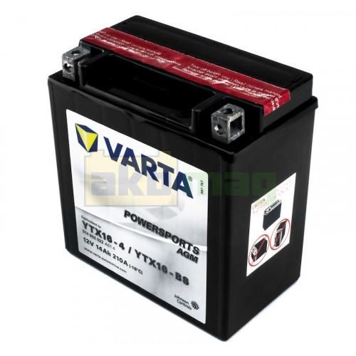 Мото аккумулятор Varta 6СТ-14 PowerSports AGM YTX16-BS