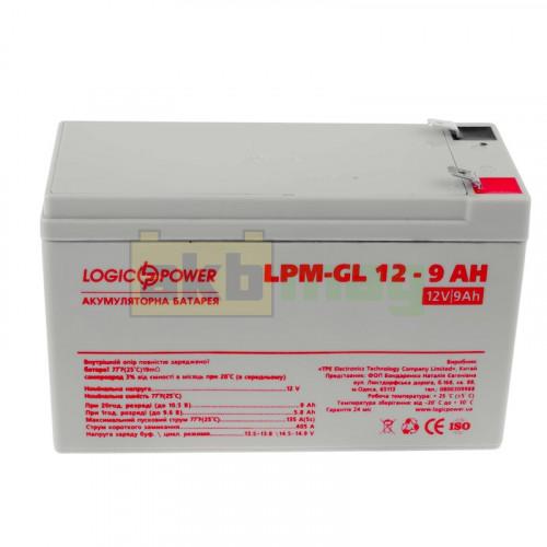 Аккумулятор LogicPower LPM-GL12-9