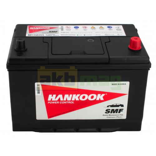 Автомобильный аккумулятор Hankook 6СТ-95 SMF 115D31FL