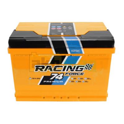 Автомобильный аккумулятор Racing Force 6СТ-74