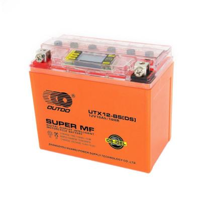 Мото аккумулятор Outdo 6СТ-10 UTX12-BS