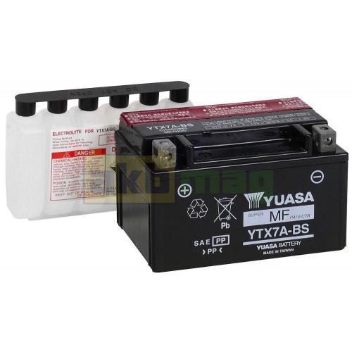 Мото аккумулятор Yuasa 6СТ-6 YTX7A-BS