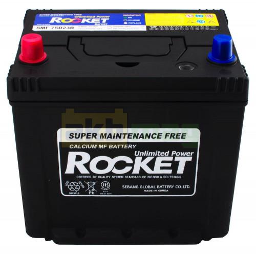 Автомобильный аккумулятор Rocket 6СТ-65 75D23R