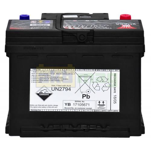 Автомобильный аккумулятор Yuasa 6СТ-60 SMF YBX3078