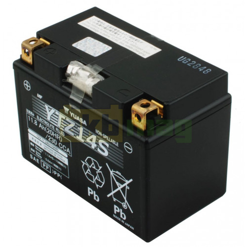 Мото аккумулятор Yuasa 6СТ-11,8 YTZ14S