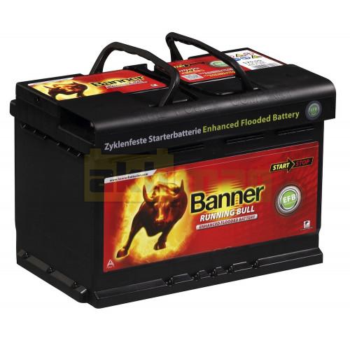 Автомобильный аккумулятор Banner 6СТ-70 Running Bull EFB 57000