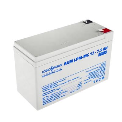 Аккумулятор LogicPower LPM-MG12-7,5